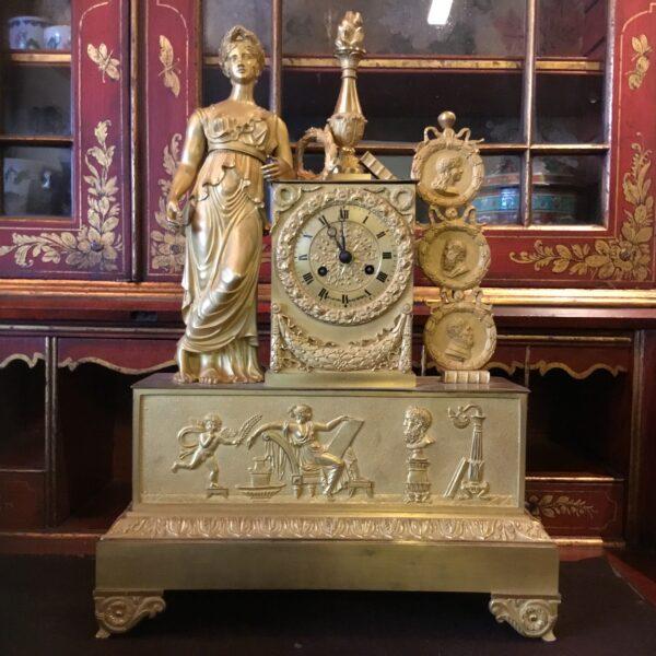 Fransk-empire-konsolur-i-bronze