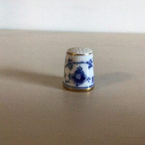 B&G Blåmalet Fingerbøl nr. 4801