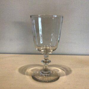 Christian den 8. rødvinsglas uden slibning
